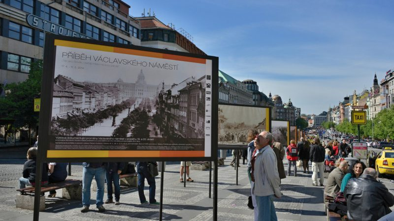 STORY OF WENCESLAS SQUARE EXHIBITION