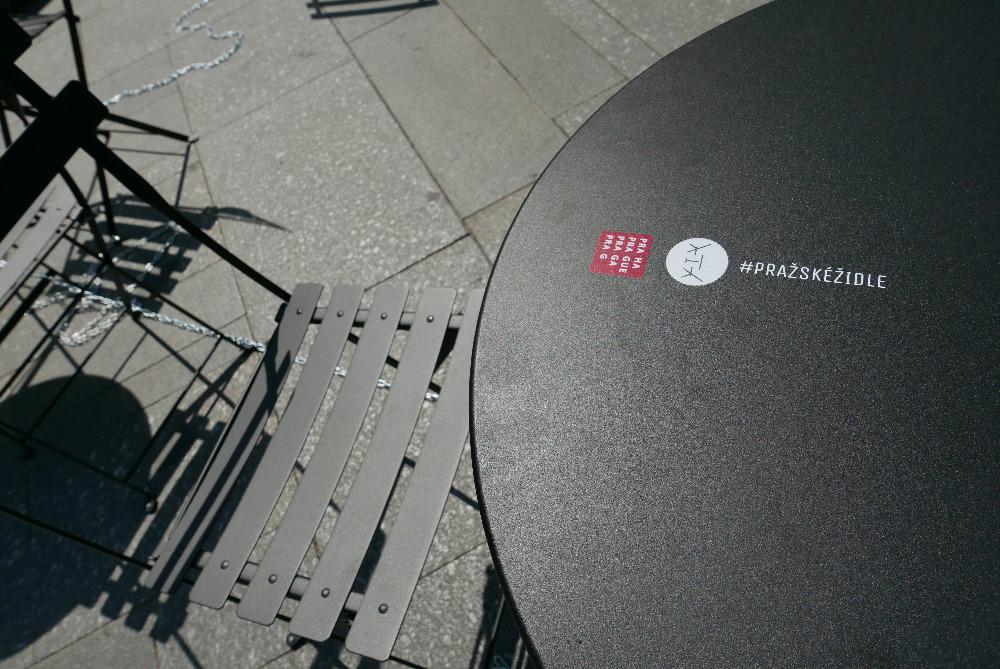 Pražské židle & stolky